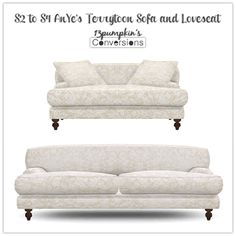 13Pumpkin31 - TS3 Sofa and chairs conversions.