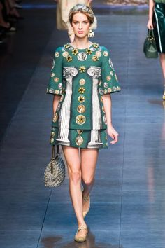 DOLCE & GABBANA COLLECTION SPRING 2014