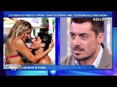 Francesca Cipriani, l'ex fidanzato ospite a Domenica Live !! - YouTube