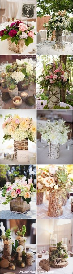 34 Ideas wedding flowers decoration table reception ideas for 2019 Rustic Wedding Favors, Rustic Wedding Centerpieces, Wedding Ideas, Trendy Wedding, Centerpiece Ideas, Table Decorations, Wedding Vintage, Wedding Inspiration, Elegant Wedding