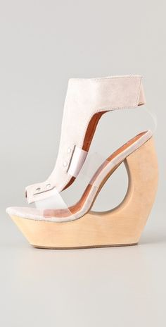 These Jeffrey Campbell wedges might even be too intense for me...  But I still love them!