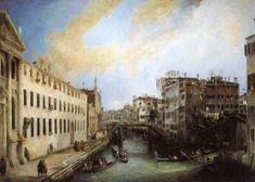 1724 - Rio dei Mendicanti @ Ca' Rezzonico, Museo del Settecento, Venice