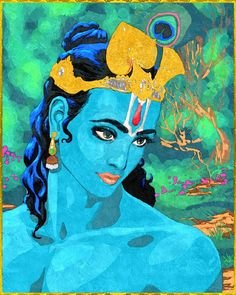 KRISHNA #Krishna #Krsna #hindu #art