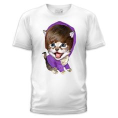 "this tshirt is called ""Baby Baby Baby Meow."" too funny. too cute."