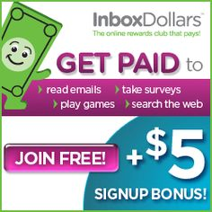 Inbox Dollars: Get paid to read emails, take surveys, search the web, and more! via Money Saving Mom