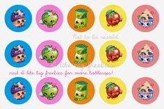Shopkins bottlecap images/Shopkins cupcake toppers #shopkins