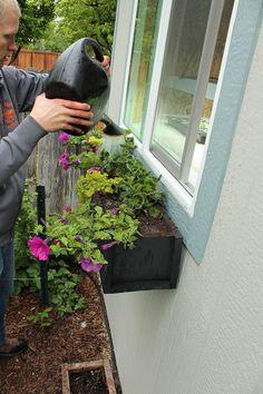 paso a paso para plantar una jardinera en la ventana