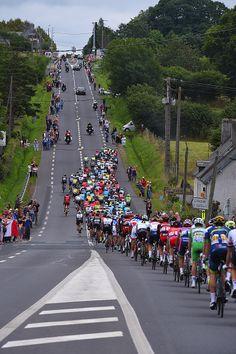 #TDF2016 103th Tour de France 2016 / Stage 3 Illustration / Landscape / Peloton / Public / Fans / Granville Angers / TDF /