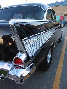 '57 Chev ~ classic fin