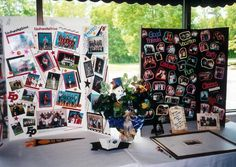 graduation photo board party ideas | graduation poster board display tri fold poster board graduation photo