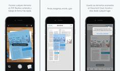 Adobe lanza una aplicación gratuita para escanear documentos para iOS y Android
