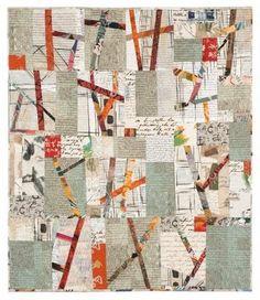 "Dialogue - 2009 - 42"" x 50"" - by Sylvia Einstein.  Artist Profile by Terry Jarrard-Dimond."