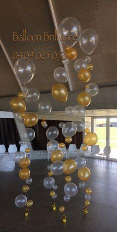 """Bubble Strands""  #heliumballoons #heliumballoonscanberra #partyballoons…"