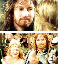 Tumblr N85n1uhl8i1rb19a9o2 250 Gif 245 270 Eowyn And Faramir The Hobbit Lord Of The Rings