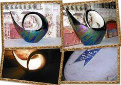 Ceramica Lusso Torino  Lampada  epigono Lenci design anni 50 vintage
