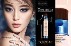 L'OREAL Paris Makeup Ads, Loreal Paris, Pearl White, Whitening, Layouts, Foundation, Commercial, Advertising, Make Up