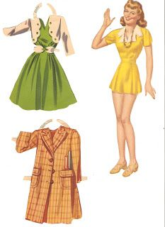 Miss Missy Paper Dolls: Marianne and Betty Sue