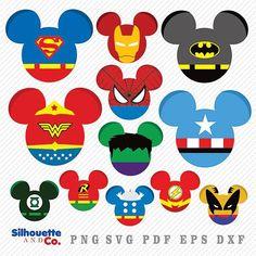 use this one for WW, spiderman, hulk Disney Diy, Disney Crafts, Disney Trips, Disney Love, Disney Cruise Door, Disney Cookies, Mickey Mouse Head, Disney Ears, Disney Scrapbook