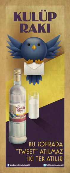 Kulüp rakı shopper ads by Levent Göksu Özsaygı, via Behance