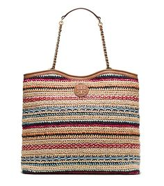 MARION WOVEN SLOUCHY TOTE