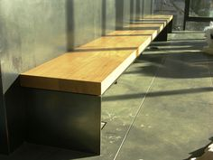 Oak Bench Slab for Boora Architects