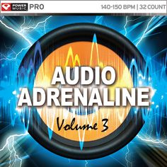 """Pack the punch into your next cardio class with this brand new, high-octane release. True to its name, the high-energy, instrumental audio will have your classes' adrenaline pumping from start to finish. Perfect for kickboxing and combat, """"Audio Adrenaline"""" is a 'must-have' in your music collection."""