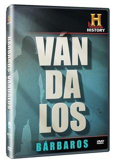 Diseño publicitario de DVD's - Stop Diseño Gráfico - Diseño de Vándalos - Bárbaros - History Channel.