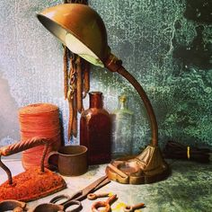 A personal favorite from my Etsy shop https://www.etsy.com/listing/235757366/gooseneck-lamp-industrial-lighting
