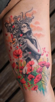 Regardless of what tattoo style youre looking for Deborah Genchi will have you covered. Youll fall in love with her incredibly versatile tattoos. Fairy Tattoo, Virgo Tattoo, Cute Tattoos, Sleeve Tattoos, Leg Tattoos, Nature Tattoo Sleeve, Mother Tattoos, Oz Tattoo, Virgo Tattoo Designs