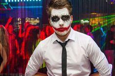 Maquillage Halloween homme: Le Joker