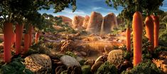 17 Amazing Landscapes That You Could Actually Eat. This is Quite Something... | Cools And Fools