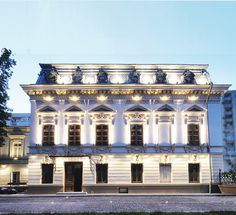 Casa Filipescu-Cesianu | Arhitectura 1906 Belle Epoque, Old Houses, Mansions, House Styles, Home, Houses, Manor Houses, Old Homes, Villas