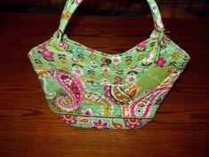 Vera Bradley purse handbag Daisy in Tutti Frutti NWT in Clothing, Shoes & Accessories   eBay