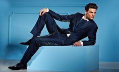 Abbinare scarpe a vestito blu uomo krizia