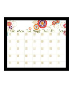 Take a look at this Floral Pop Monthly Memo Board by PTM Images on #zulily today! $29.99, usually 80.00