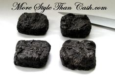These are yummy!! Lump of Coal Cookies :)  *Oreos, marshmallows and butter (just like Rice Krispie treats but with Oreos)  Perfect for stockings and holiday parties!