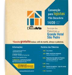 Pólo DecorArte: eMarketing de convenção para lojistas