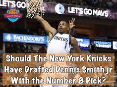 Dallas got Dennis Smith jr as an absolute STEAL at #9. Should the Knicks have taken him over Frank Ntilikina at #8. I'm thinking the Knicks missed out  #nba #basketball #ball #bball #baller #buckets #hoops #ballislife #jump #athlete #dunk #dennissmith #jr #dallasmavericks #mavs #newyork #knicks #lebron #nbadebate #adidas #shoes #nbadraft #rookie #dunker #warriors #cavs #follow