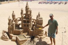 fuerteventura corralejo sand sculptures - Google Search Tenerife, Sand Sculptures, Canario, Places Of Interest, Happy Holidays, Places To Visit, Rowan, October, Travel