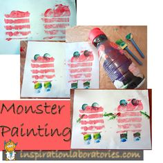 monster-painting -Repinned by Totetude.com