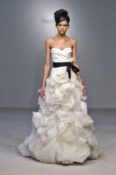 #Suknia ślubna by Vera Wang