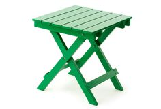 Outdoor Side Table, Green