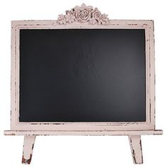 Wedding Chalkboard, Restaurant Chalkboard, Menu Chalkboard Free Standing (Shabby Pink)