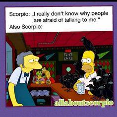 "Scorpio Page ♏♏♏♏♏ on Instagram: ""#scorpioman #scorpion #facts #truth #scorpio #scorpiowoman #scorpioman"" Scorpio Funny, Scorpio And Capricorn, Astrology Scorpio, Scorpio Zodiac Facts, Scorpio Traits, Zodiac Sign Traits, Zodiac Signs Horoscope, Zodiac Memes, My Zodiac Sign"