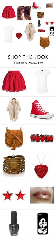 """Taylor's Outfit  --by Libbie"" by moma-mia ❤ liked on Polyvore featuring Joseph, Converse, Chloé, Sif Jakobs Jewellery, Givenchy, OPI, women's clothing, women, female and woman"