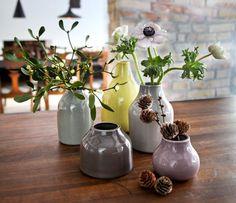 """Vasenset """"Botanica"""" von Kähler Design via Schoener Wohnen"""