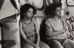 danny lyon »IRT 2, South Bronx, New York City«, 1979 [gelatin silver print]