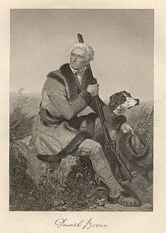 Daniel Boone contrary to popular belief DB did not wear a coon skin cap. That's a myth