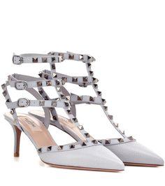 mytheresa.com - Valentino Garavani Pumps Rockstud aus Leder - Luxury Fashion for Women / Designer clothing, shoes, bags