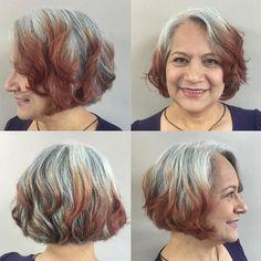 Wavy Bob Cut - 2016 Short Haircut Ideas for Women Over 50 - 60